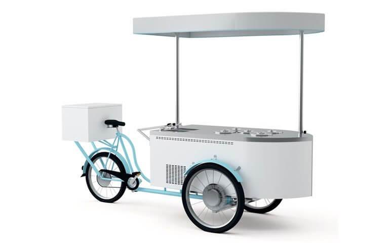 Rower do lodów – 5 kuwet