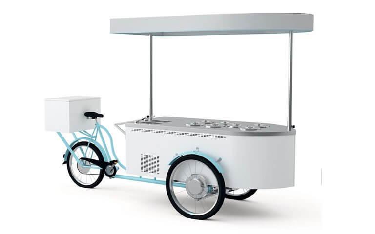 Rower do lodów – 7 kuwet