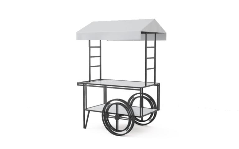 Wózek ekspozycyjny